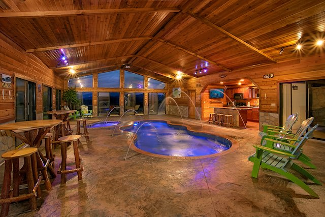 Private indoor pool  7 Top Gatlinburg Cabins with Indoor Pools - Book Online!