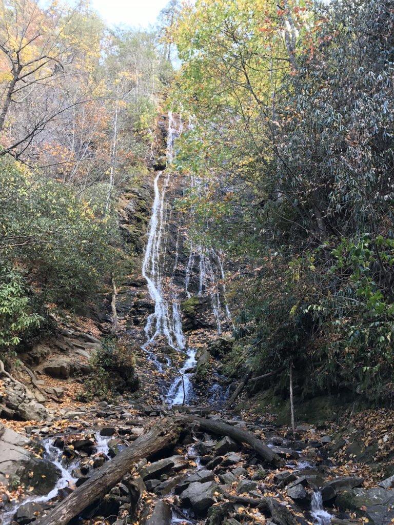 National Park Hikes - Mingo Falls - Original Photo