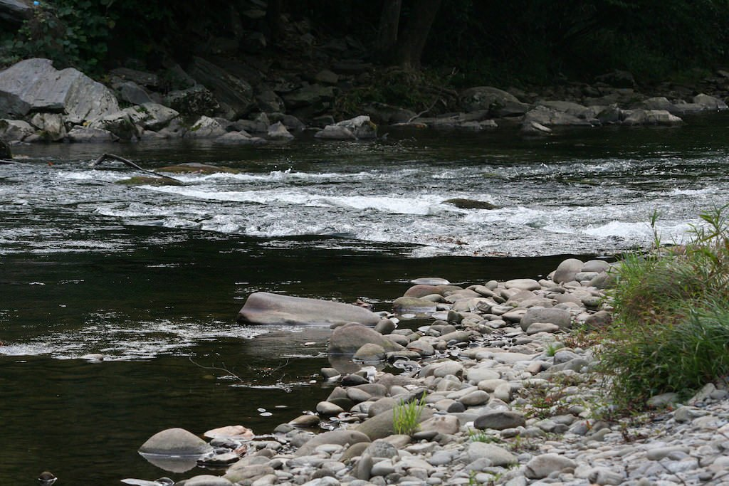 National Park Hikes - Oconaluftee River Trail - Original Photo