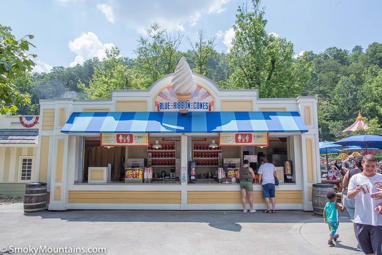 Dollywood Food - Blue Ribbon Cones - Original Photo
