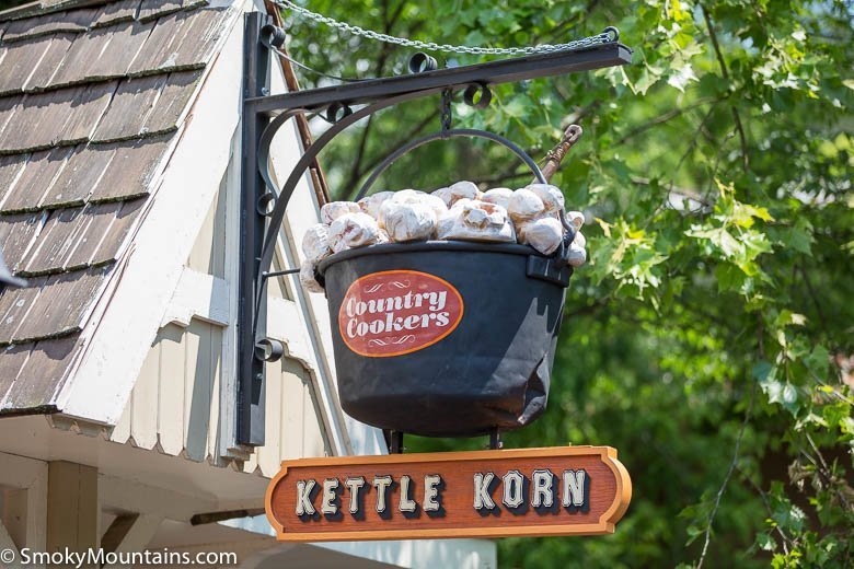 Dollywood Food - Country Cookers Kettle Korn - Original Photo