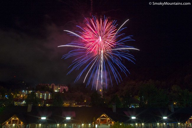 July 4th in Gatlinburg
