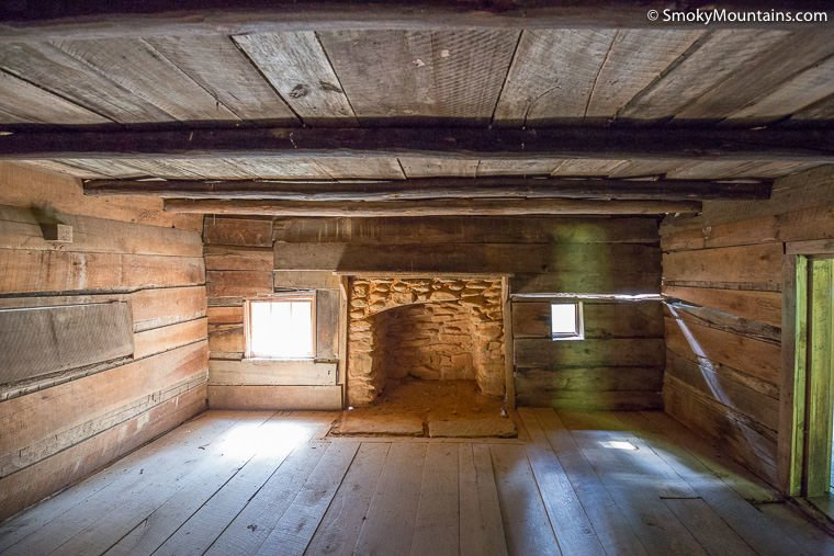 Historical Henry Whitehead Place At Cades Cove