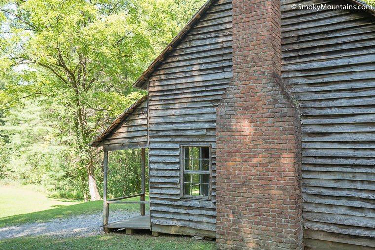 National Park Cades Cove - Henry Whitehead Place Historical Structure - Original Photo