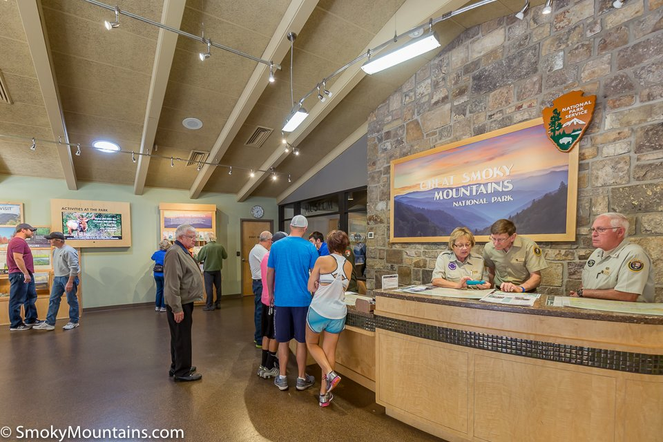 National Park Things To Do - Sugarlands Visitor Center - Original Photo