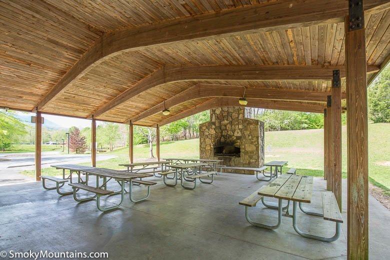 Mills park picnic spot