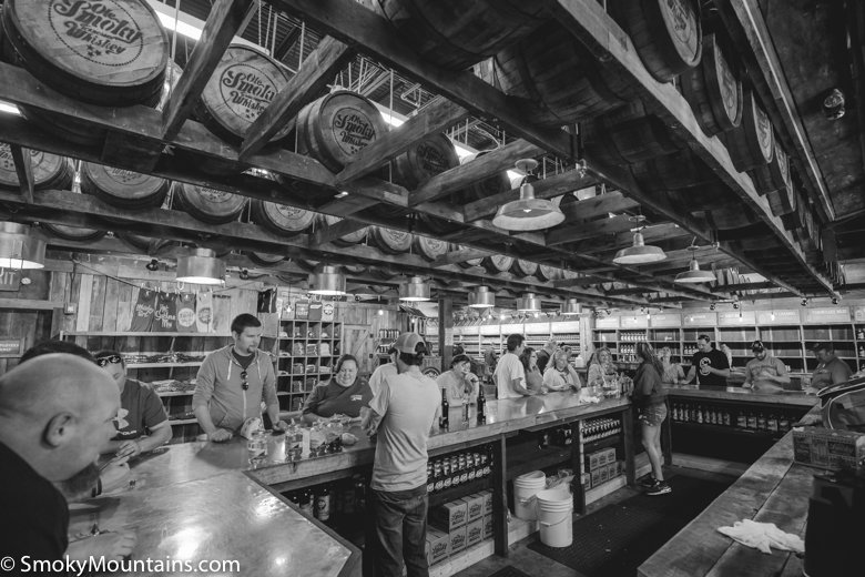 Gatlinburg Things To Do - Ole Smoky Barrelhouse - Original Photo