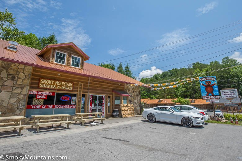 Gatlinburg Restaurants - Smoky Mountain Shakes N Dawgs - Original Photo