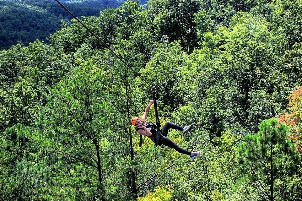 Photo of Zip Lining at Climbworks