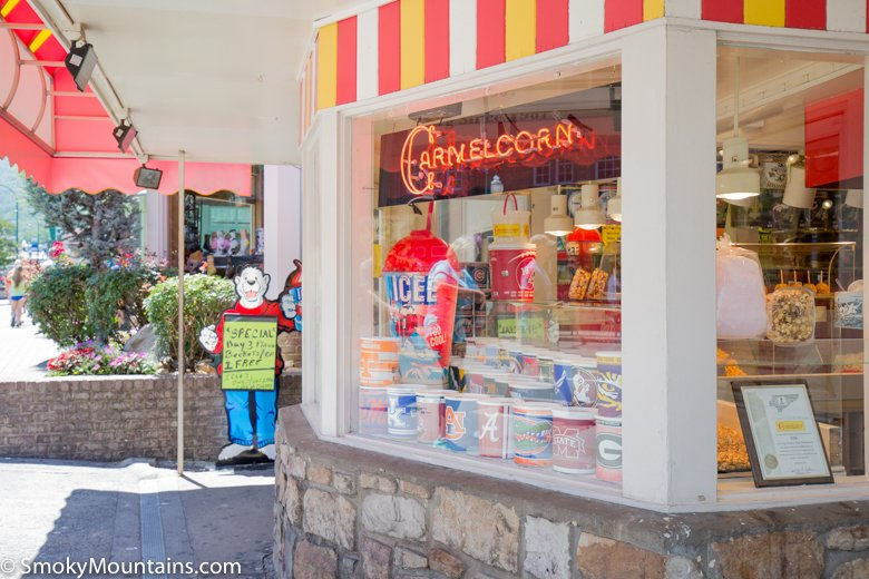 Gatlinburg Restaurants - Kilwins Chocolates - Original Photo
