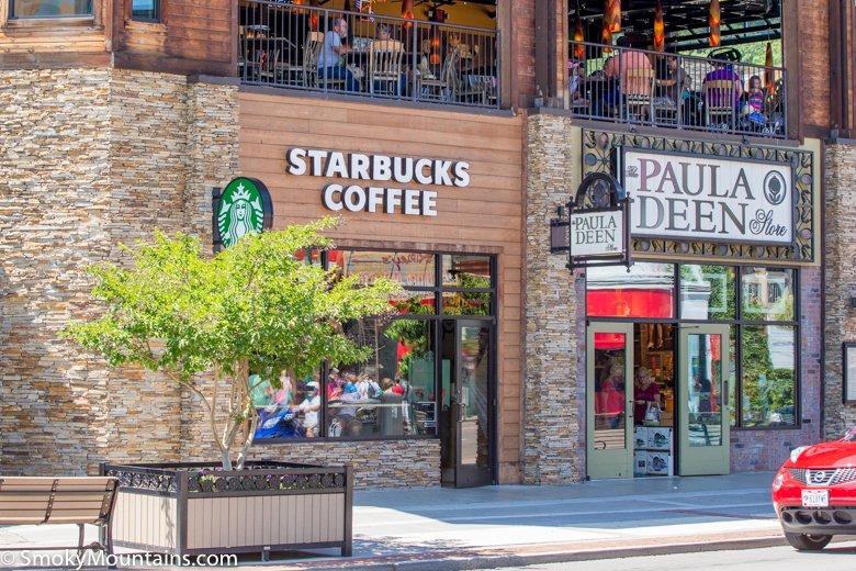 Gatlinburg Restaurants Starbucks Original Photo