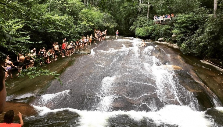 Smoky Mountains Natural Water Slide