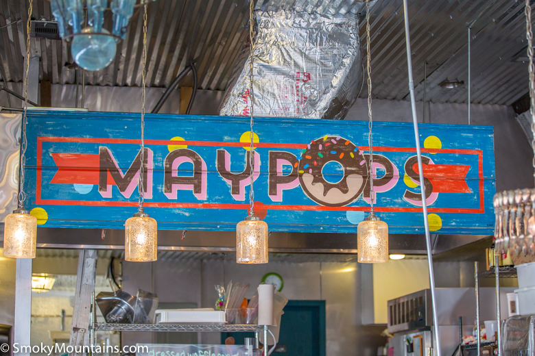 Gatlinburg Restaurants - Maypops Ice Cream - Original Photo