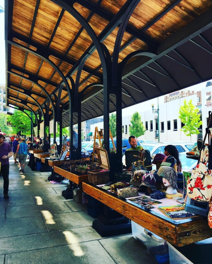 Outdoor Market at Grove Arcade Public Market in Asheville