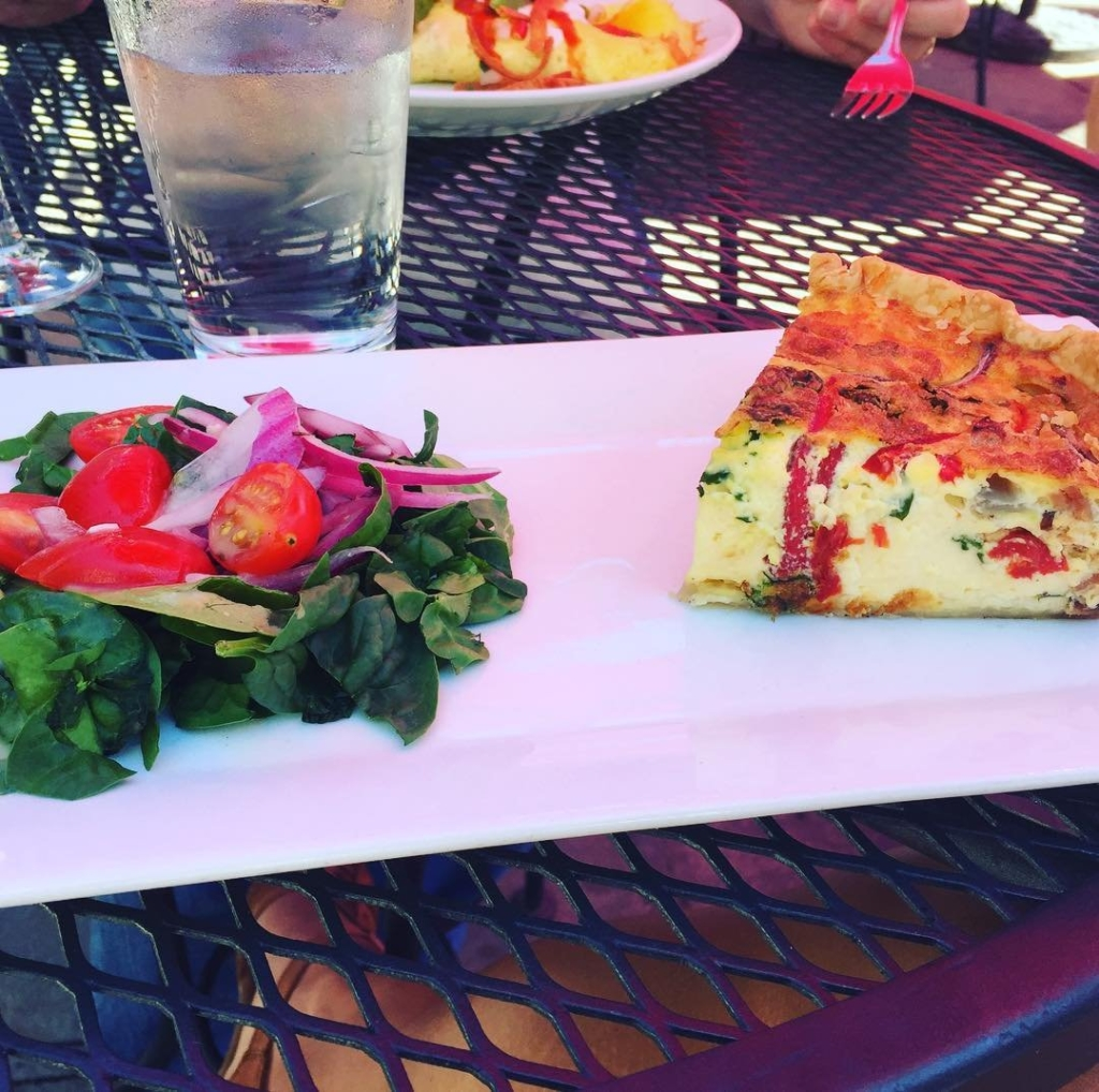 brunch at carmel's in Asheville at Grove Arcade