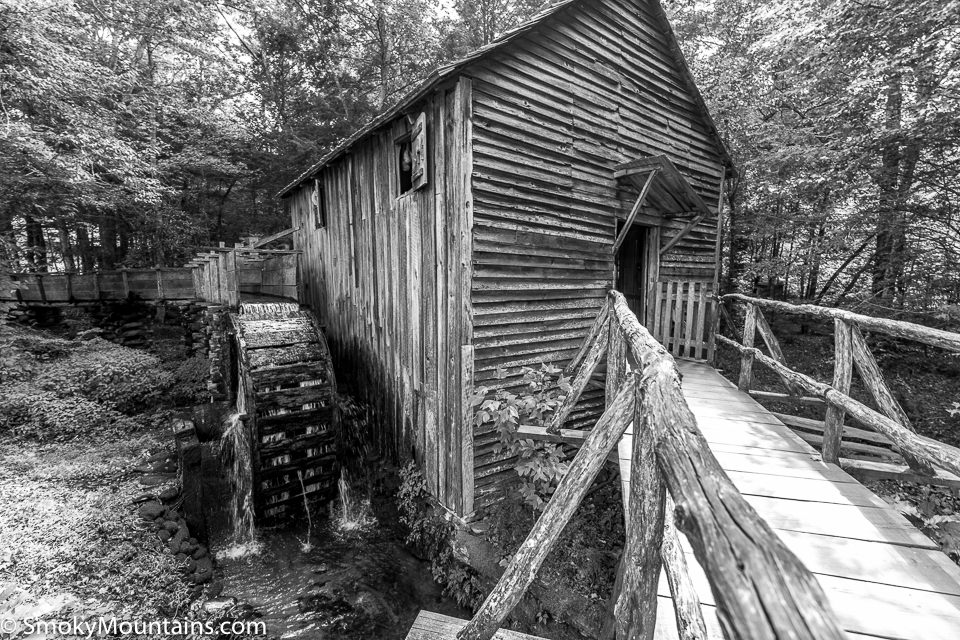National Park Cades Cove - Cades Cove Historical Grist Mill - Original Photo