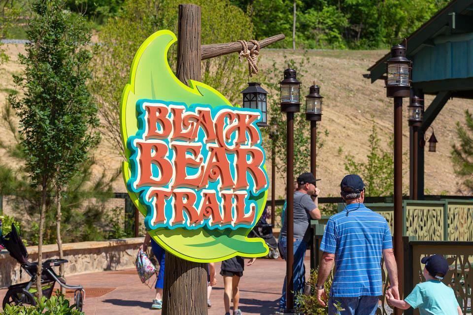 Dollywood Rides - Black Bear Trail - Original Photo