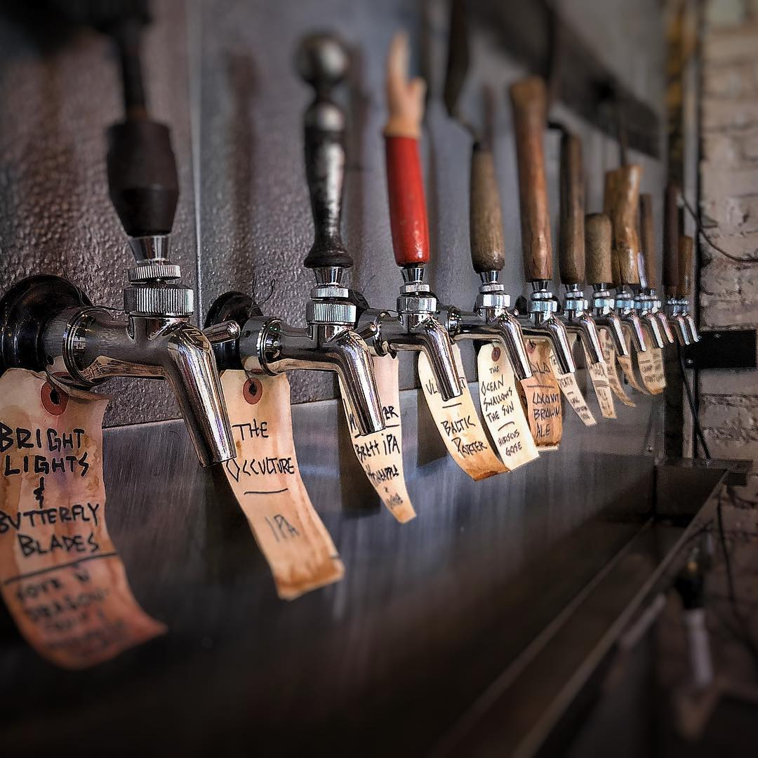 Beers on Tap at Burial Beer Co