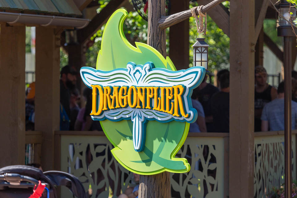 Dollywood Rides - Dragonflier - Original Photo