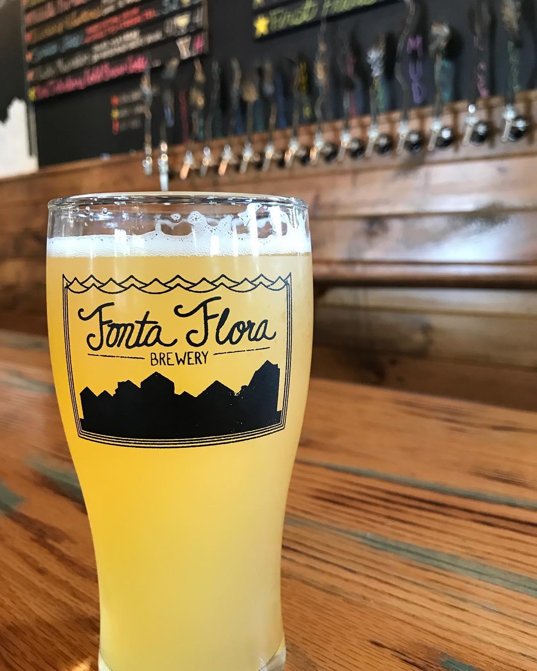 Fonta Flora Craft Beer on Bar