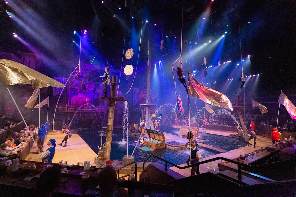 Pirates Voyage Show in Pigeon Forge