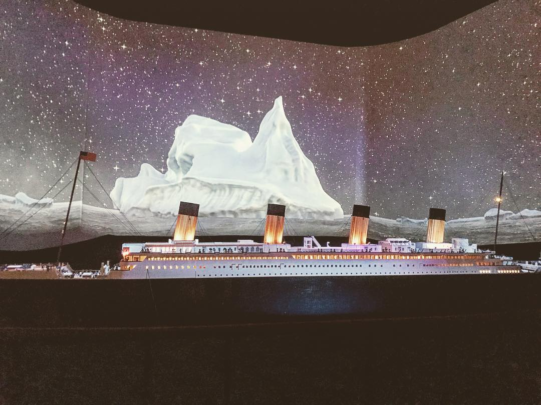 Lego model of Titanic