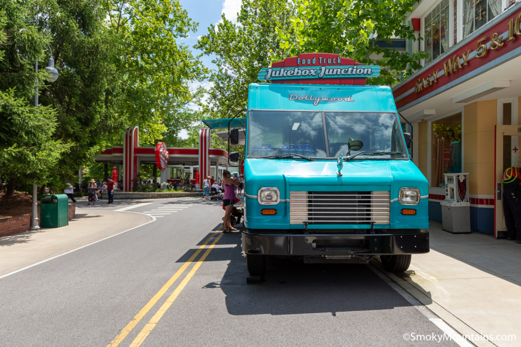 Dollywood Food - Jukebox Junction Food Truck - Original Photo