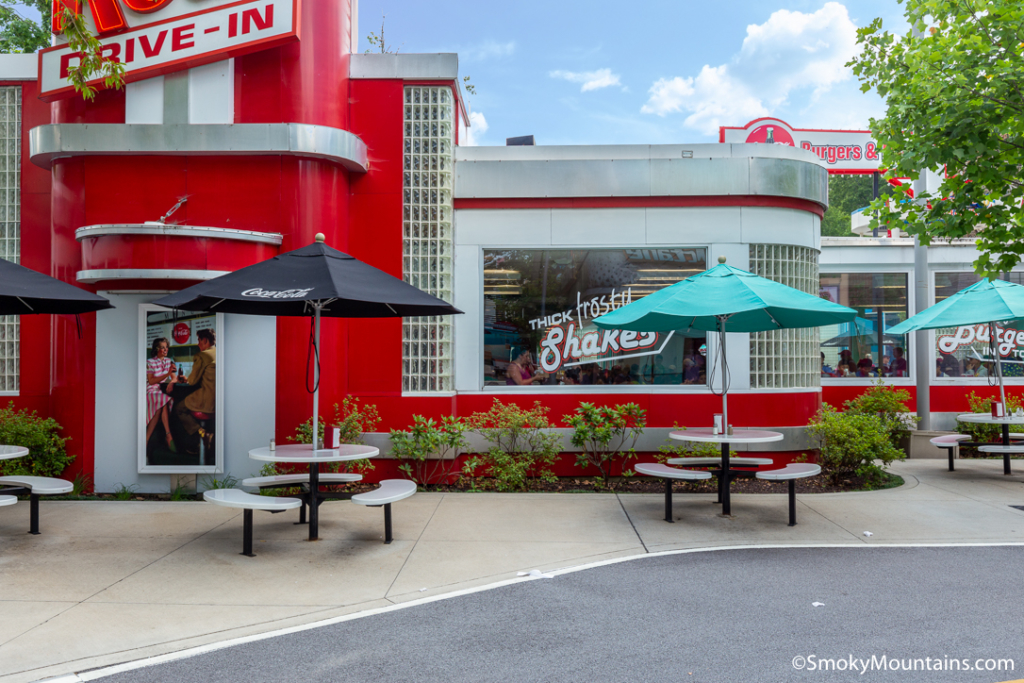 Dollywood Food - Red's Drive In - Original Photo