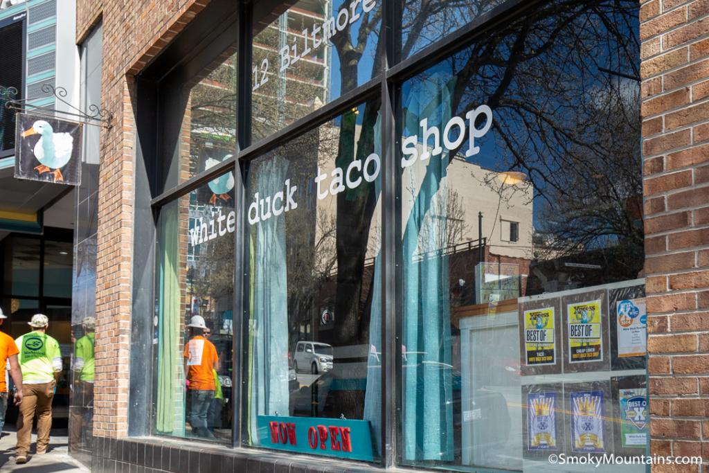 Asheville Restaurants - White Duck Taco Shop (1 Roberts St.) - Original Photo