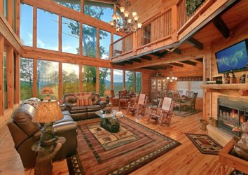 6 Cabins to Book this Fall (with Great Views) in the Smoky Mountains