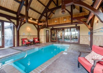5 Cabins with Indoor Pools Near the Great Smoky Mountains National Park
