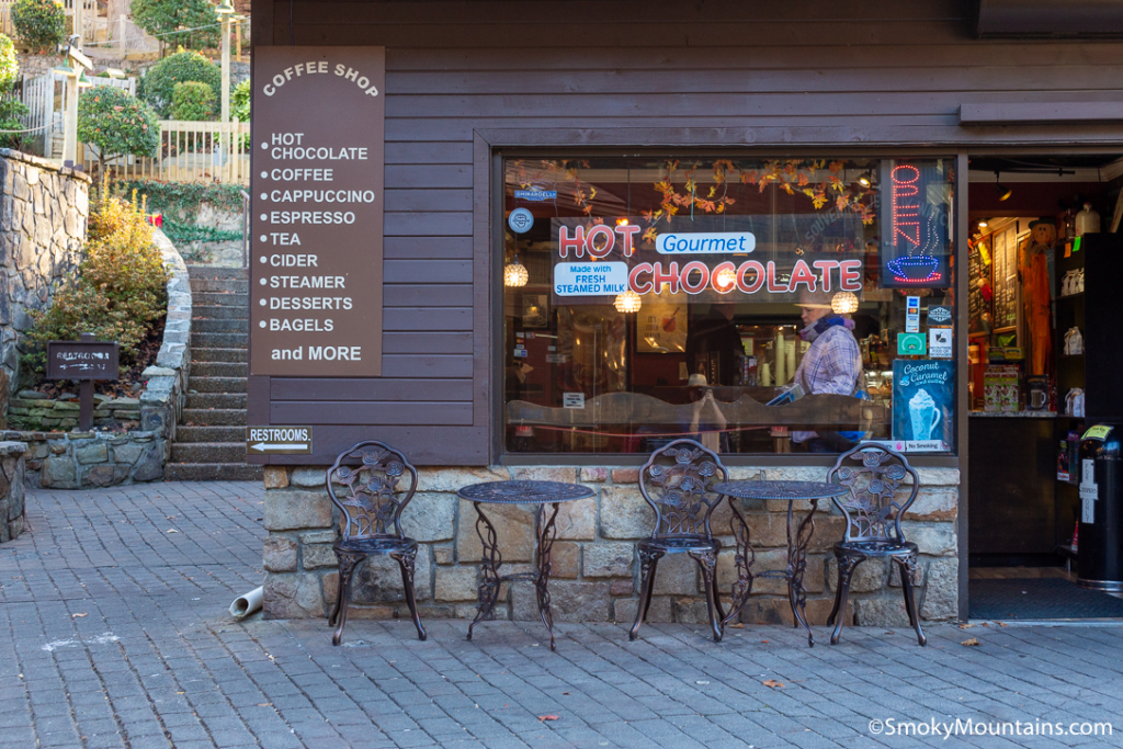 Gatlinburg Restaurants - Burg Coffees - Original Photo