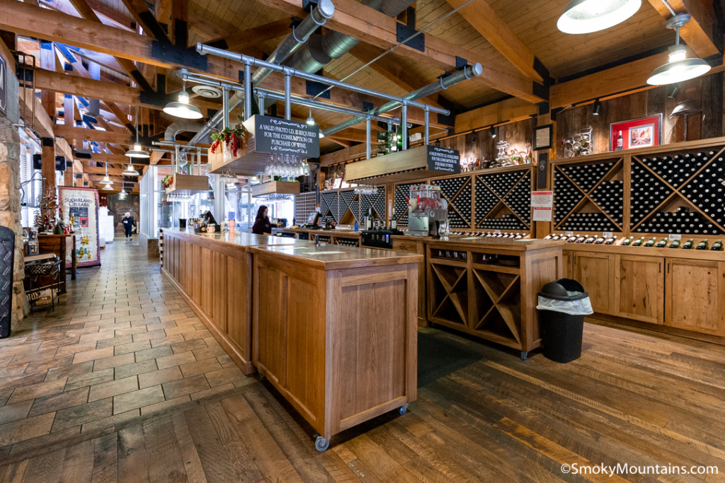 Gatlinburg Things To Do - Sugarland Cellars - Original Photo