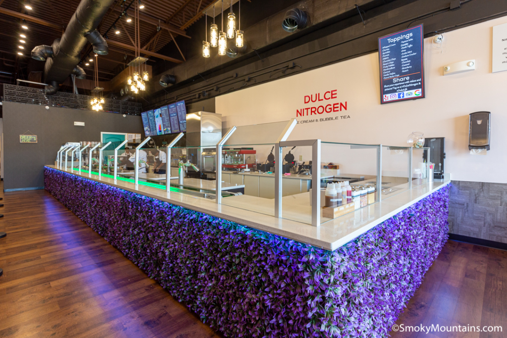 Pigeon Forge Restaurants - Dulce Nitrogen – Ice Cream & Bubble Tea - Original Photo
