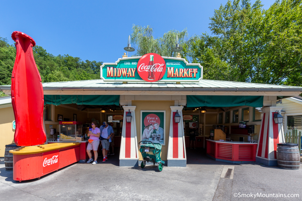 Dollywood Food - Midway Market - Original Photo