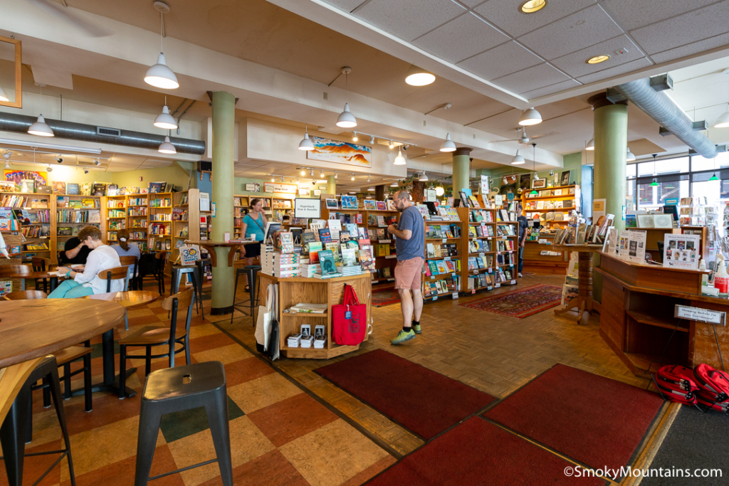 Asheville Restaurants - Malaprops Bookstore & Coffee Shop - Original Photo