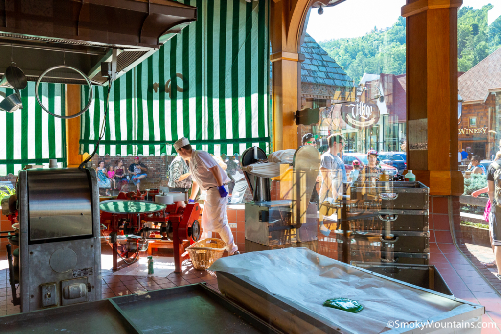 Gatlinburg Things To Do - Ole Smoky Candy Kitchen - Original Photo