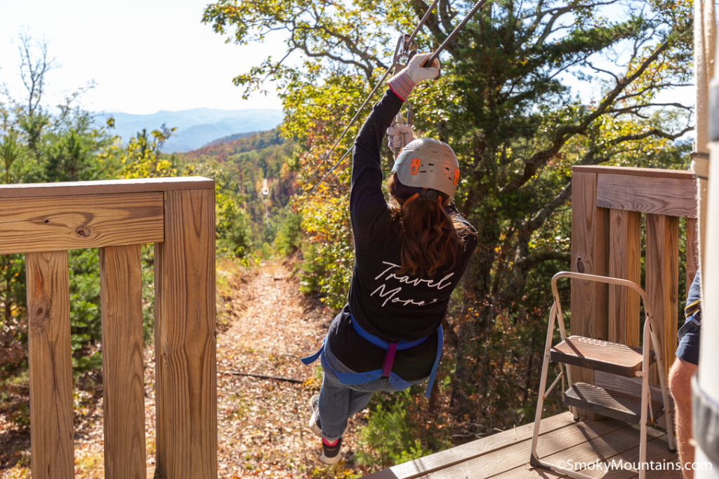 Sevierville Things To Do - Legacy Mountain Ziplines - Original Photo