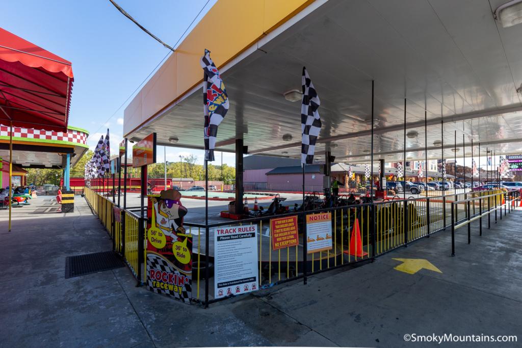 Pigeon Forge Things To Do - Rockin' Raceway - Original Photo