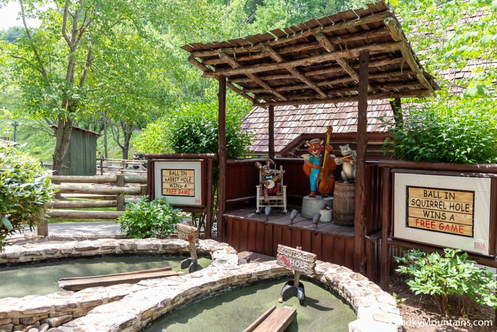 Gatlinburg Things To Do - Ripley's Davy Crockett Mini-Golf - Original Photo