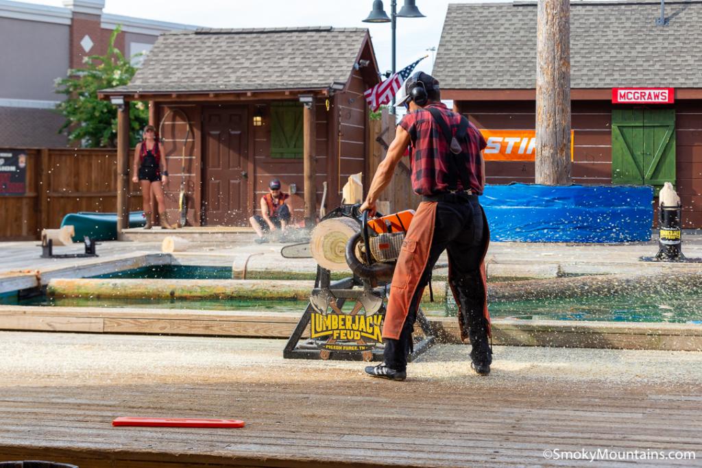 Pigeon Forge Things To Do - Paula Deen's Lumberjack Feud Show & Adventure Park - Original Photo