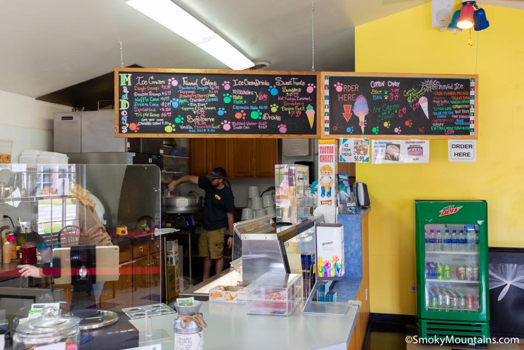 Pigeon Forge Restaurants - Mad Dog's Creamery - Original Photo