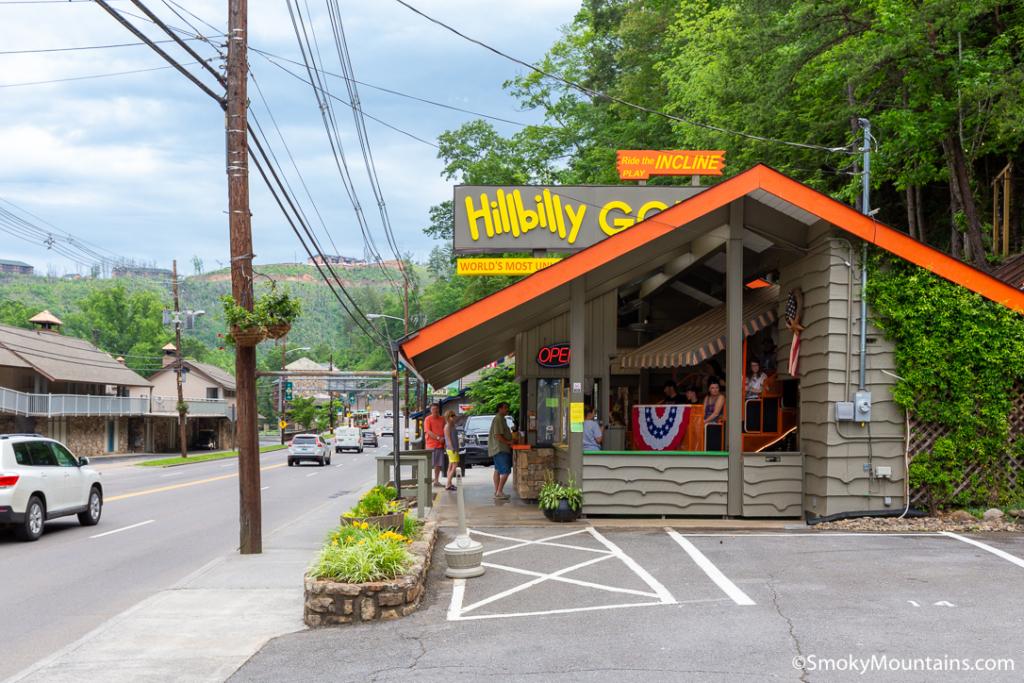Gatlinburg Things To Do - Hillbilly Golf - Original Photo
