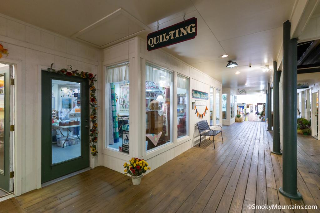 Gatlinburg Things To Do - Mountain Stitches by Susan - Original Photo