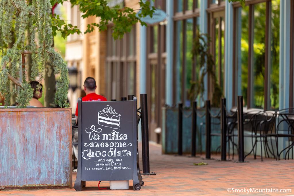 Asheville Restaurants - French Broad Chocolate Lounge - Original Photo