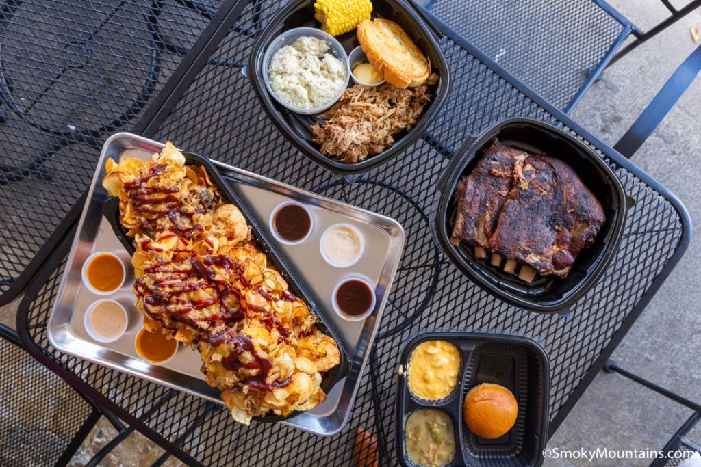 Sevierville Restaurants - Tony Gore's Smoky Mountain BBQ - Original Photo
