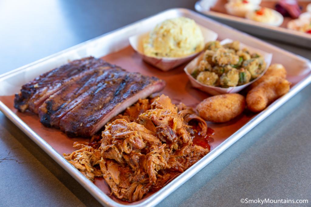 Asheville Restaurants - Luella's Bar-B-Que North - Original Photo