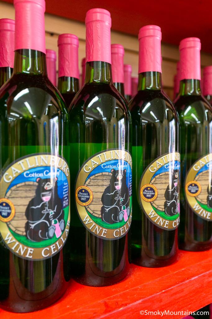 Gatlinburg Things To Do - Gatlinburg Wine Cellar - Original Photo