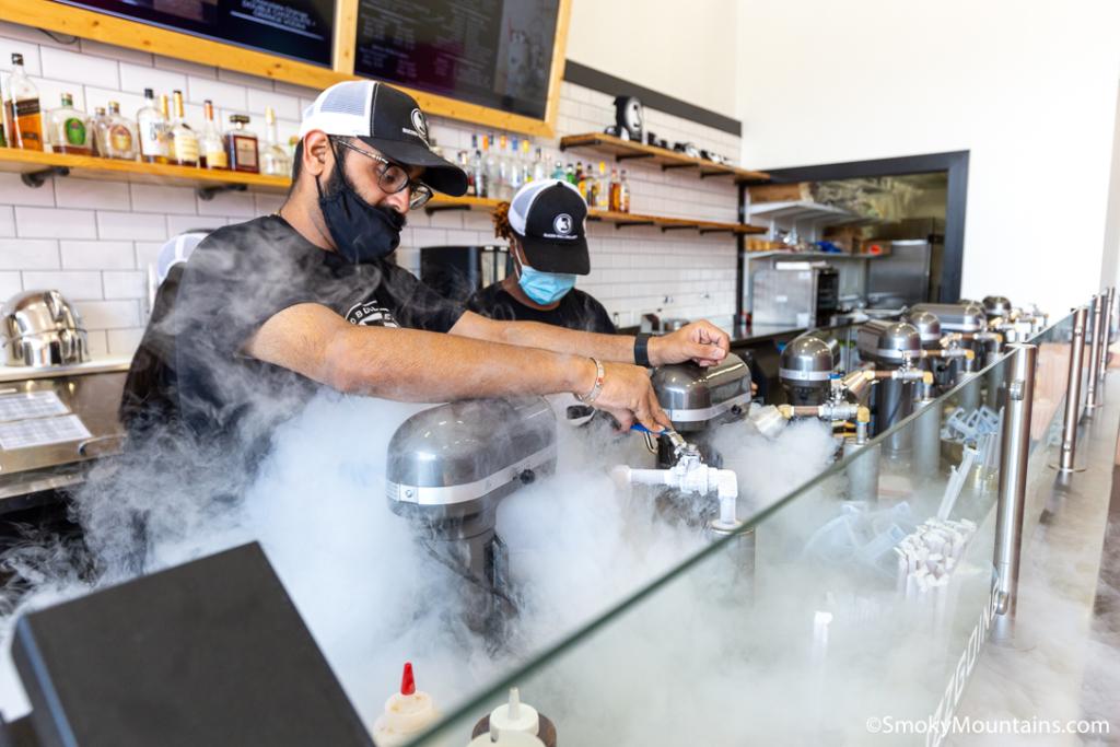 Pigeon Forge Restaurants - Buzzed Bull Creamery - Original Photo