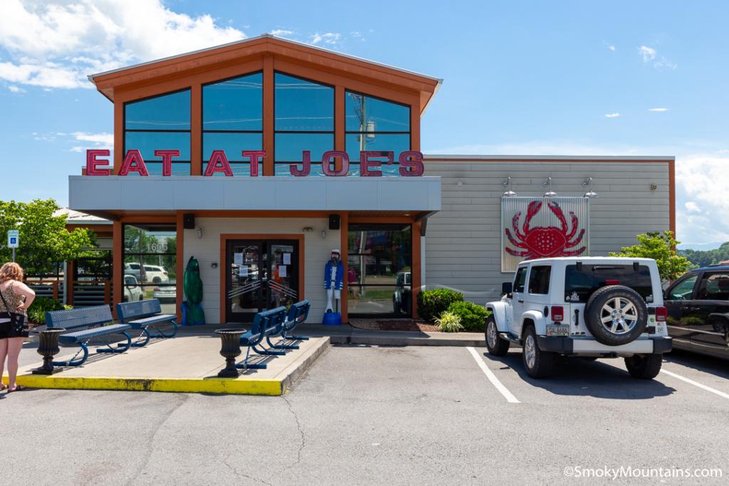 Sevierville Restaurants - Joe's Crab Shack - Original Photo
